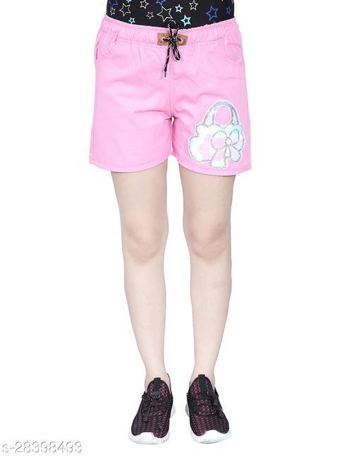 Casual Modern Women Shorts