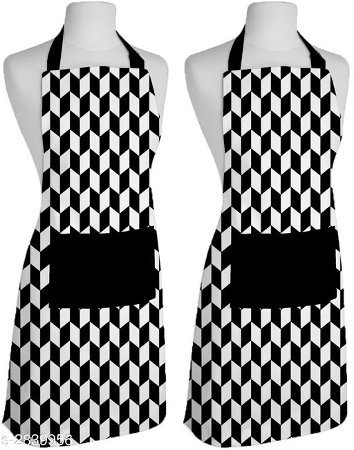 COTTON APRONS (Pack of 2)