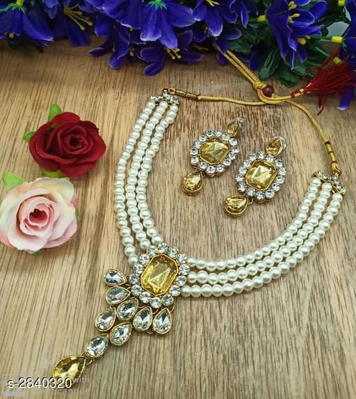 Jewellery Set Fancy Alloy Jewellery Sets Fancy Alloy Jewellery Sets  *Sizes Available* Free Size *   Catalog Rating: ★4.8 (4)  Catalog Name: Free Mask Divine Elegant Alloy Women'S Jewellery Sets Vol 15 CatalogID_385707 C77-SC1093 Code: 462-2840320-