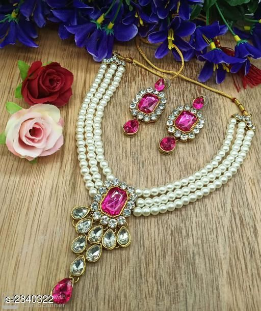 Jewellery Set Fancy Alloy Jewellery Sets Fancy Alloy Jewellery Sets  *Sizes Available* Free Size *   Catalog Rating: ★4.8 (4)  Catalog Name: Free Mask Divine Elegant Alloy Women'S Jewellery Sets Vol 15 CatalogID_385707 C77-SC1093 Code: 262-2840322-