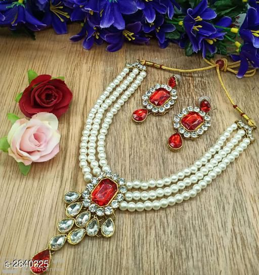 Jewellery Set Fancy Alloy Jewellery Sets Fancy Alloy Jewellery Sets  *Sizes Available* Free Size *   Catalog Rating: ★4.8 (4)  Catalog Name: Free Mask Divine Elegant Alloy Women'S Jewellery Sets Vol 15 CatalogID_385707 C77-SC1093 Code: 262-2840325-
