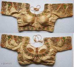Ethnic Heavy Malbari Silk Women's Blouse