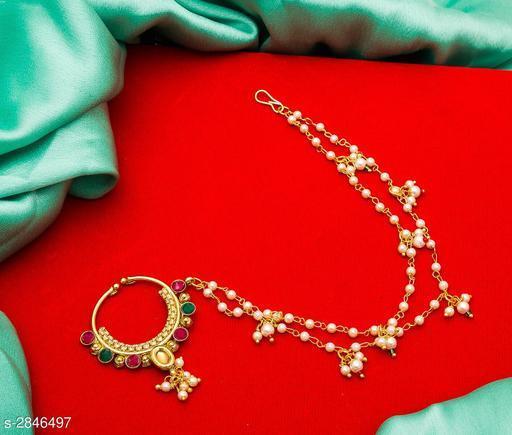 Embellished Alloy Nosepin