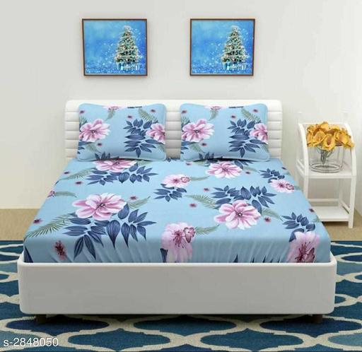 Urbane Comfy Microfiber Printed Double Bedsheet