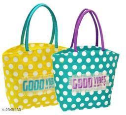 Beautiful Women's Multipack Yellow Handbag