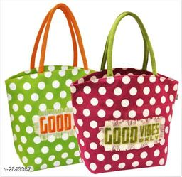 Attractive Jute Shopping Bags Combo