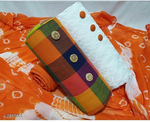 Elegant Cotton Suits & Dress Materials