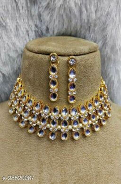 Elite Chunky Women Necklaces & Chains Jewellery Set