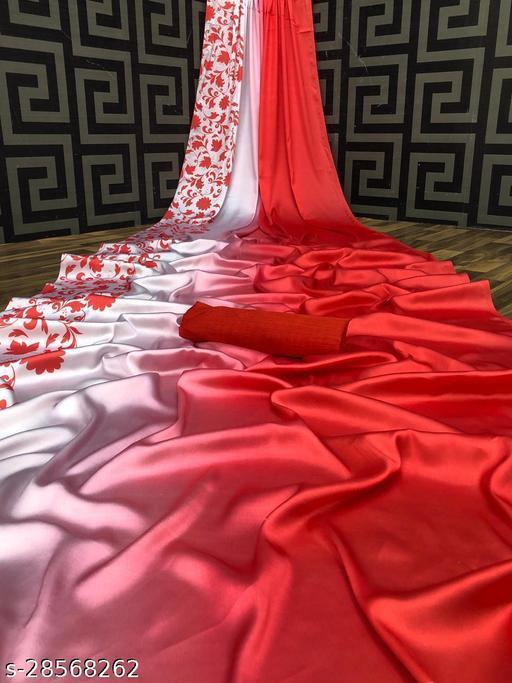Fancy Satin Silk Sarees