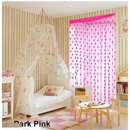 Classic Polyester Curtains Pack Of 2