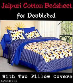 Jaipuri Cotton Bedsheets