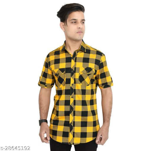 SONAVA CLUB Mens Premium Cotton Half  Shirts