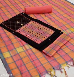 Stylish Slub Cotton Suits & Dress Material