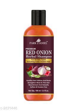 Park Daniel Premium Choice Hair Care Red Onion Oil Herbal Shampoo