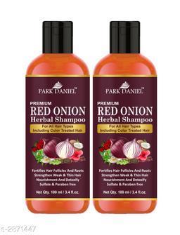 Park Daniel Premium Choice Hair Care Red Onion Oil Herbal Shampoo(Pack Of 2)