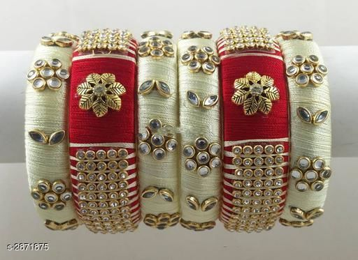 Classy Silk Thread Women's Bangle