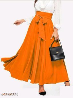 Designer Trendy Women Western Skirts