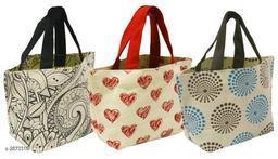 Attractive Jute Hand Bags Combo