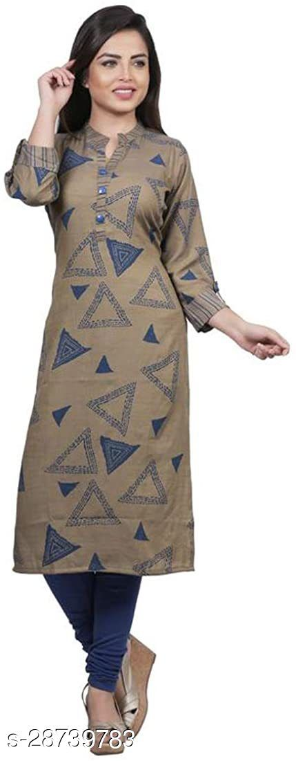 Dream Desi kurta for woman in grey color for All Plus Size and Small Size