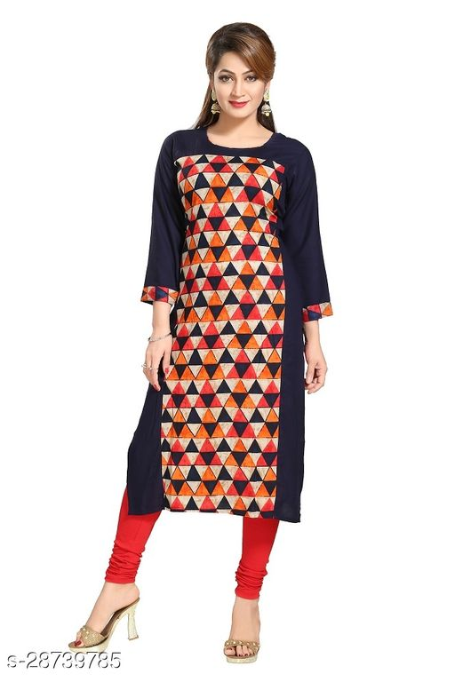 Dream Desi Rayon Kurti for Women in Formal/Casual wear for All Plus Size and Small Size
