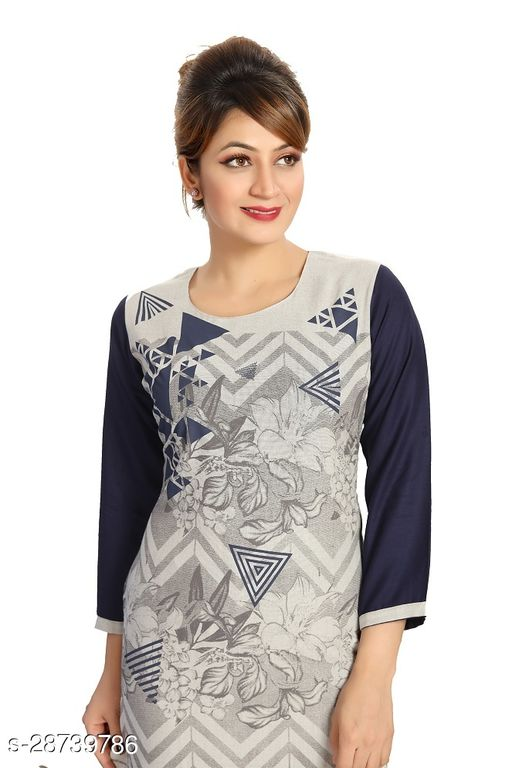 Dream Desi Women's Casual/Formal kurti in Soft Cotton Rayon for All Plus Size and Small Size.