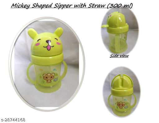 Tiny Tycoonz Mickey Shaped Cute and Fancy Baby Sipper (300 ml)