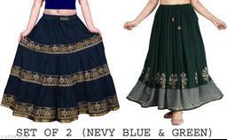 Designer Modern Women Western Skirts
