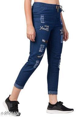Stylish Women's Denim Pant