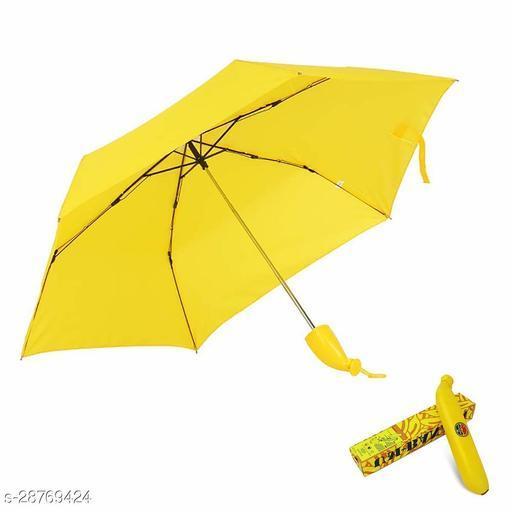Banana Shaped Sunny and Rainy Umbrella.Pc1