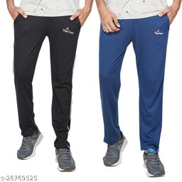 TRUE KNITMAN Men's comfy Regular Fit casual wear with zippered pocket (Pack of 2)