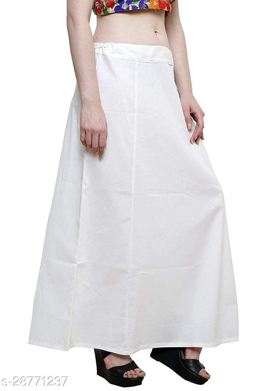 Pure Cotton Overlock Saree Petticoats