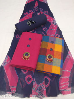 Attractive Cotton Suits & Dress Material