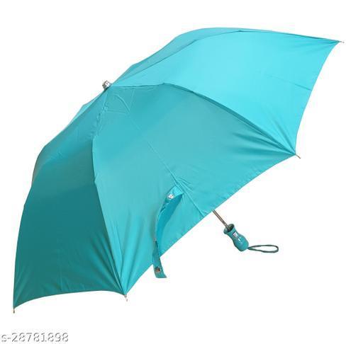Epraiser Waterproof Nylon Solid Design Automatic Open Mono Silver 2 Fold Sturdy ABS Ergonomic Handle Water Resistant / UV Protection Umbrella