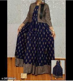 Designer Women's Kurti With Jacket
