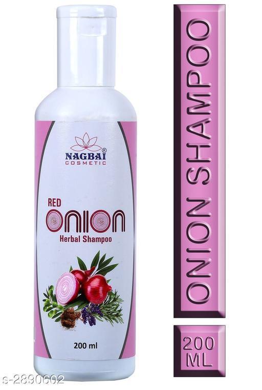 Nagbai Red Onion Shampoo for Hair Growth and Hairfall Control