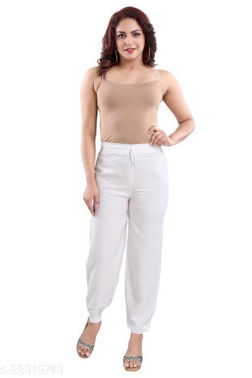 Dream Desi Women's Casual Rayon Harem Pants