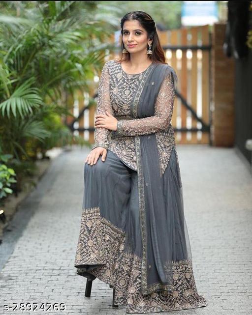 Aishani Fashionable Semi-Stitched Suits