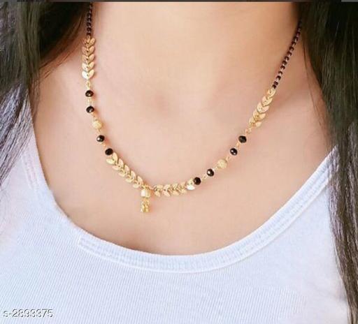 Glittering Brass Women's Mangalsutra
