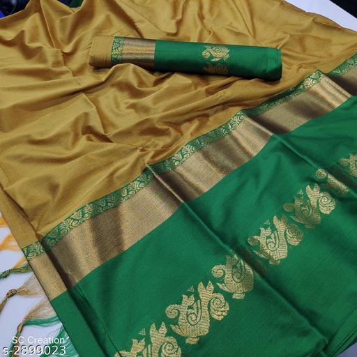 Samaira Elegant Aura Silk  Women's Sarees