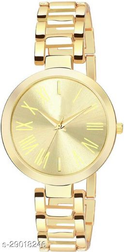 Trendy new design analog watch for girls