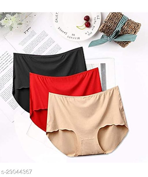 Women Pack of 3 Boy Shorts Panties