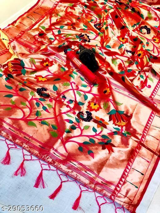Sanchi Pure Authentic Paithani sarees