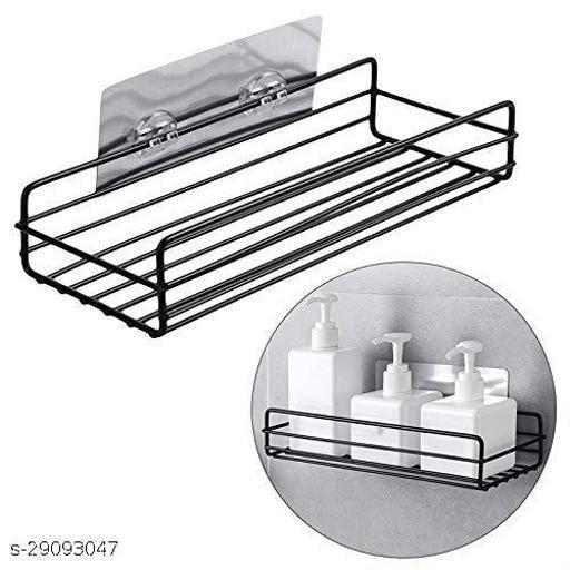 Multipurpose Kitchen Bathroom Shelf Shhelves Wall Holder Storage Rack Bathroom Rack Storage Box Strong Magic Sticker Shower Rack Shelf