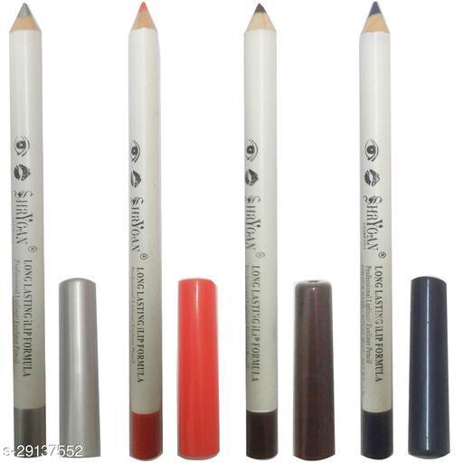 1 SHRYOAN  ORANGE LIPLINER/EYELINER PENCIL (1.8 GM) + 1 SHRYOAN  BROWN LIPLINER/EYELINER PENCIL (1.8 GM) + 1 SHRYOAN  ROYAL BLUE LIPLINER/EYELINER PENCIL (1.8 GM) + 1 SHRYOAN  SILVER LIPLINER/EYELINER PENCIL (1.8 GM)