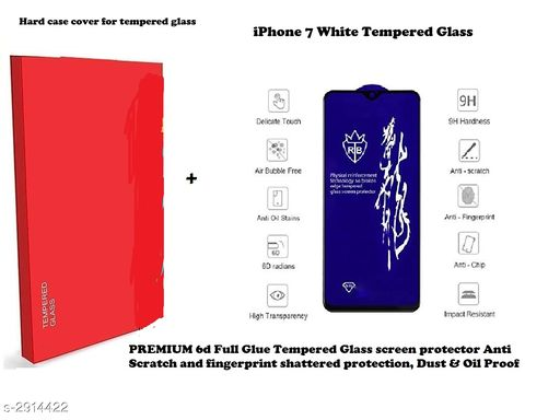 Screen Guards Modern Mobile Screen Guard  *Material* Glass  *Size* Free Size  *Compatibility* iPhone 7 White  *Description* It Has 1 Piece Of Mobile Tempered Glass  *Sizes Available* Free Size *    Catalog Name: Modern Mobile Screen Guards Vol 19 CatalogID_396764 C99-SC1385 Code: 162-2914422-