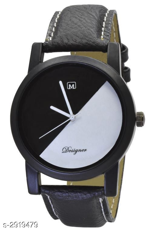 Stylish Leather Men's Watches