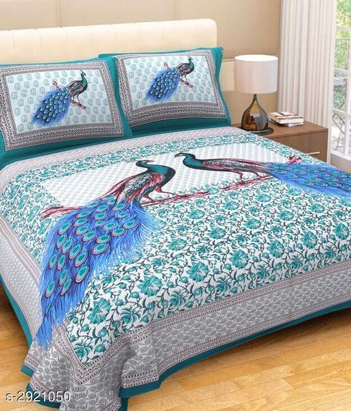 Solace Cotton Double Bedsheet