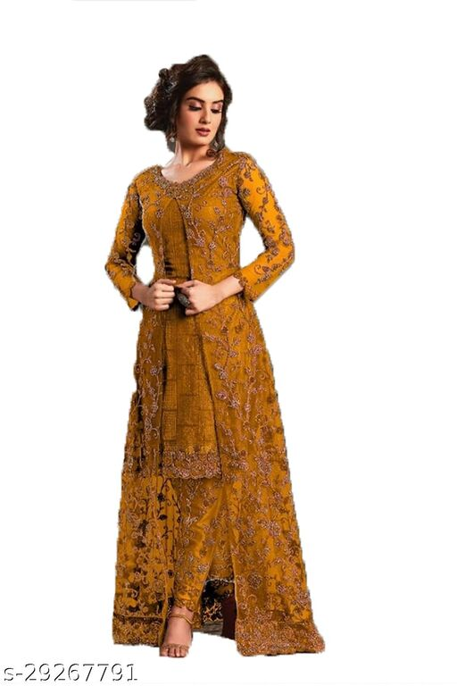 W Ethnic Designer Anakali Salwar Suit For Womens And Girls
