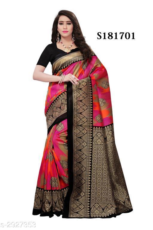 Fashion Art Silk Women's Printed Saree