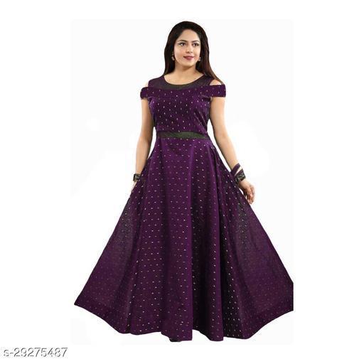 butti max purple gown